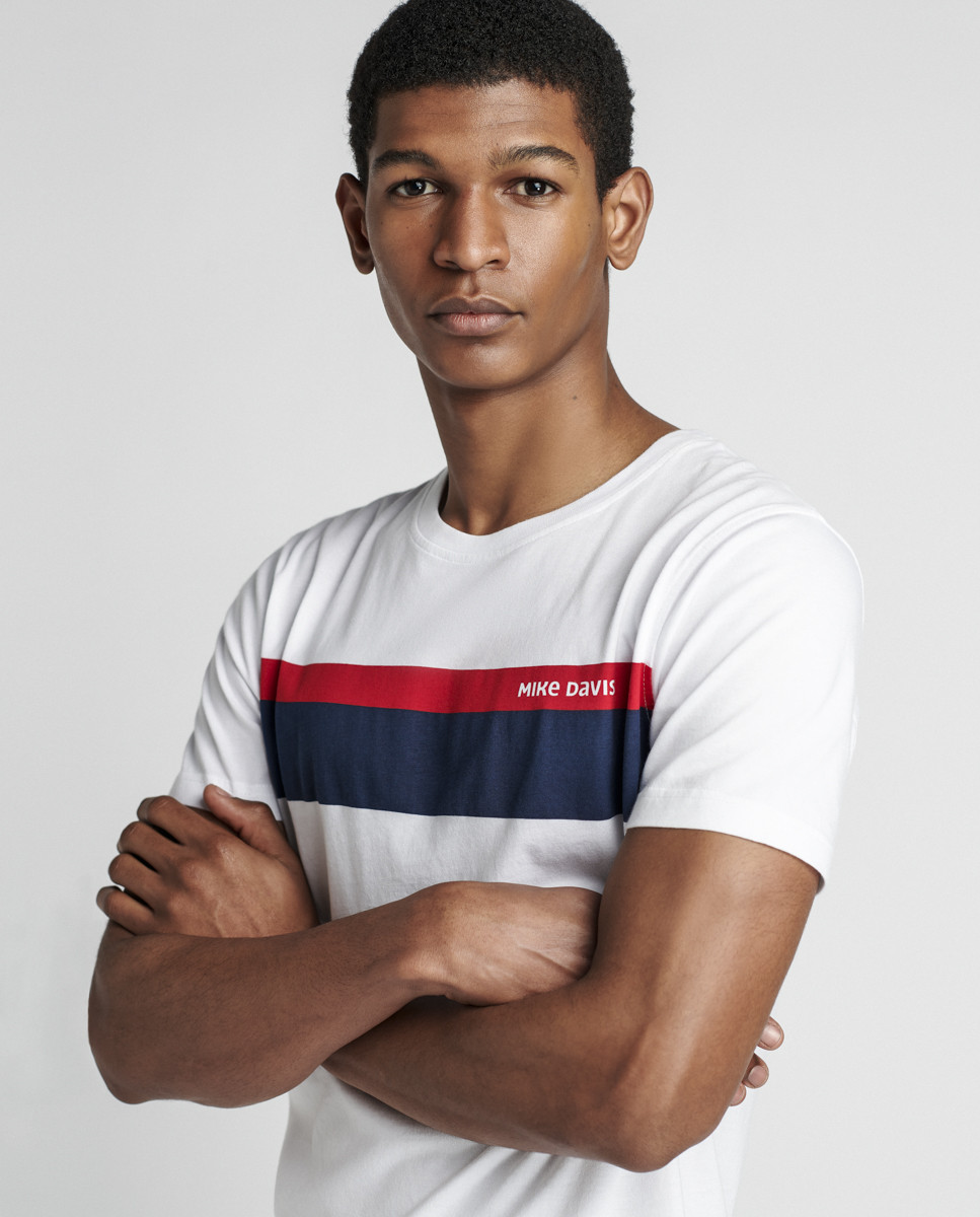 T-Shirt Jersey Mike Davis  Stripes