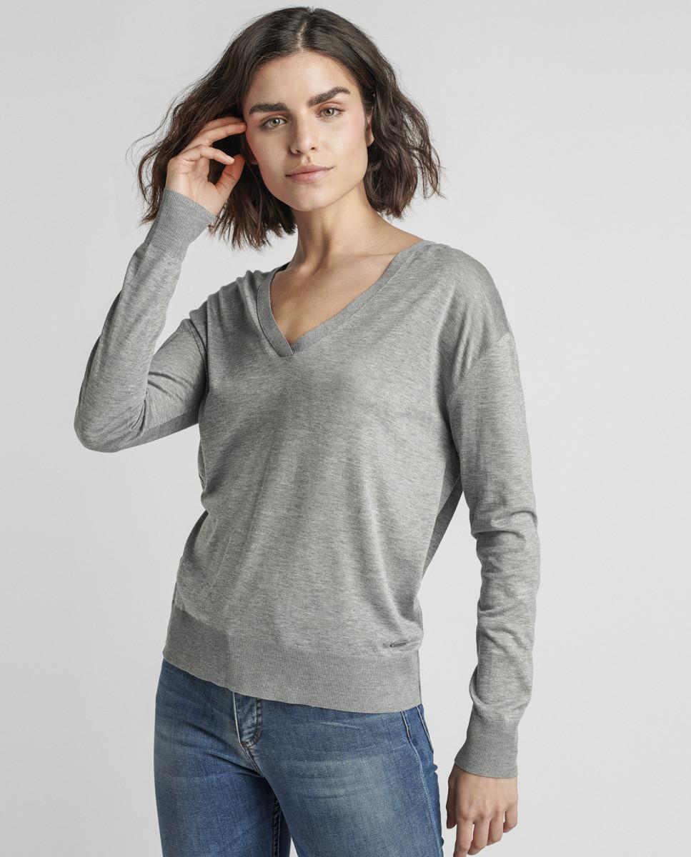 Pullover de Malha Jersey