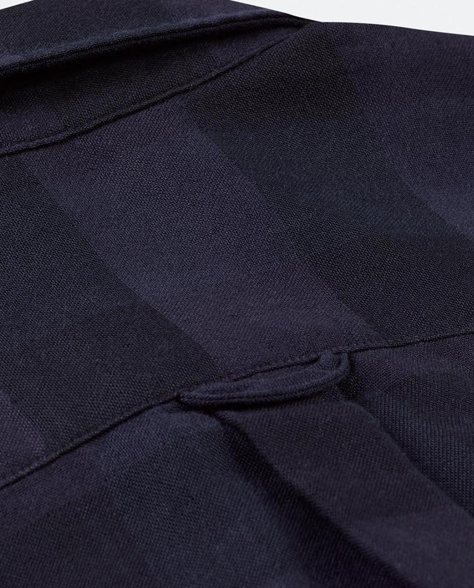 Camisa Regular Xadrez Duplo c/ Bolso