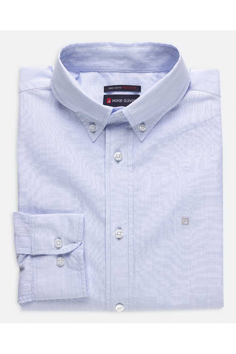 Camisa Regular Flamé c/...