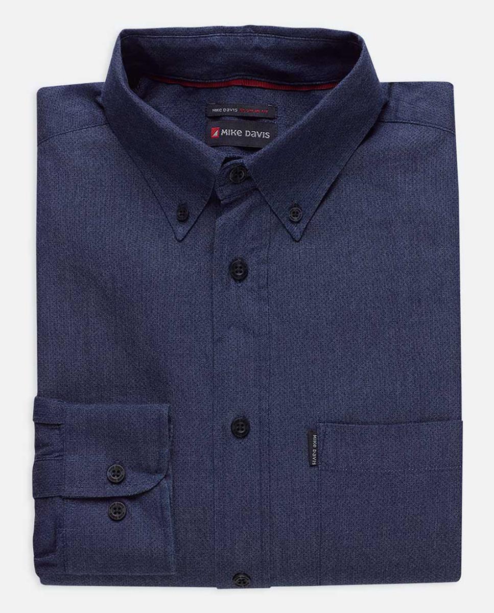 Camisa Regular Casual Indigo c/ Bolso