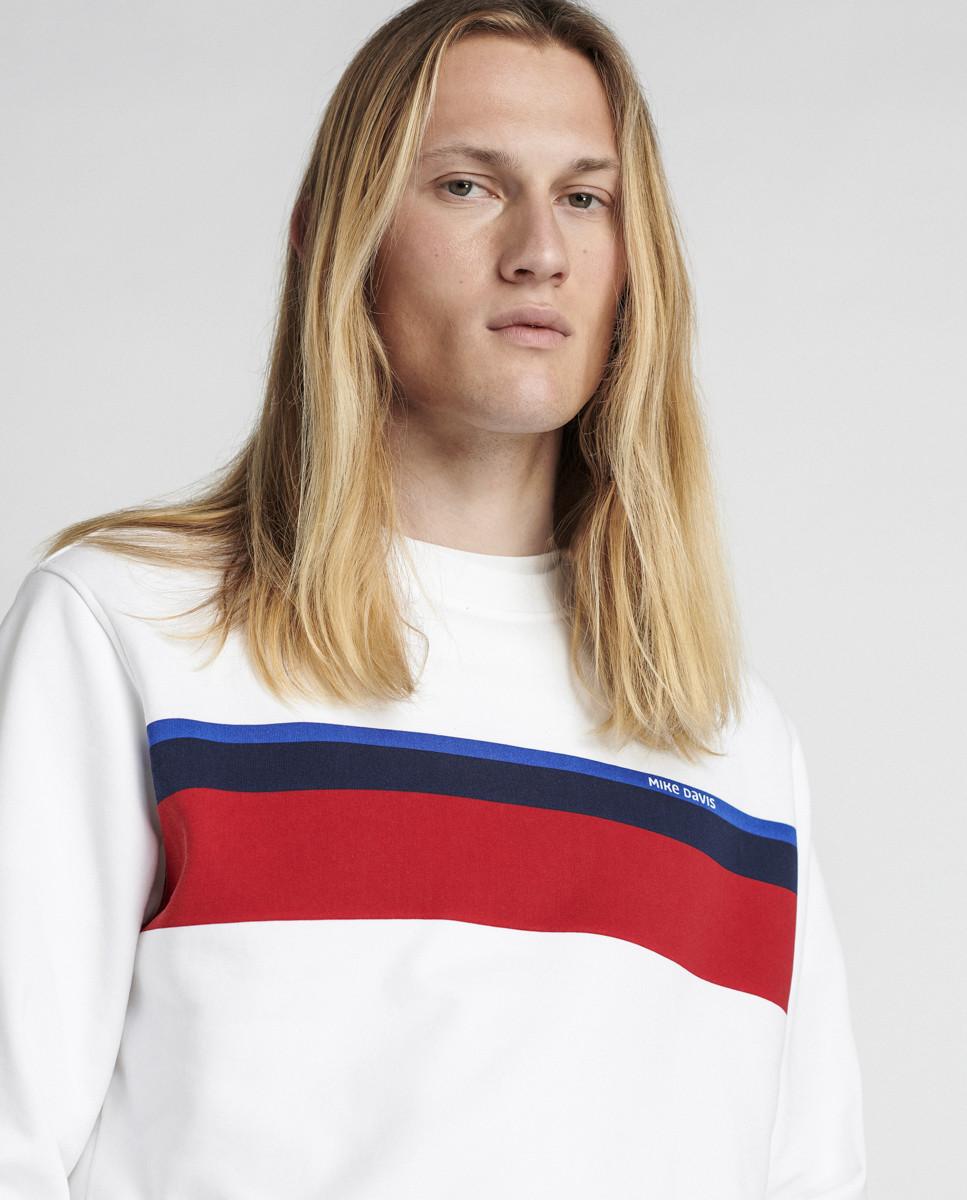 Sweatshirt Felpa Diagonal Graphic...
