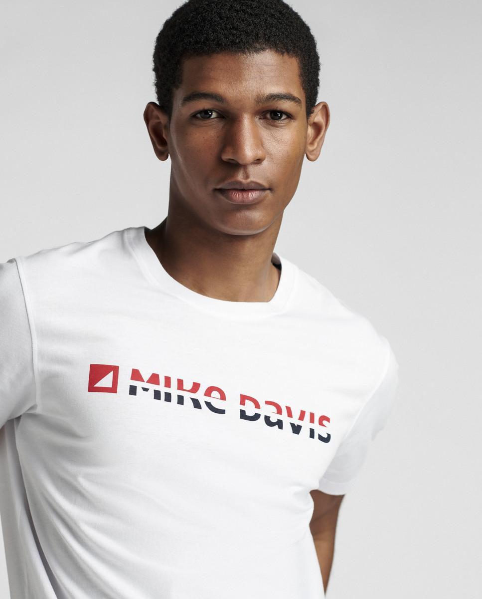 T-Shirt Jersey Print Mike Davis ADN