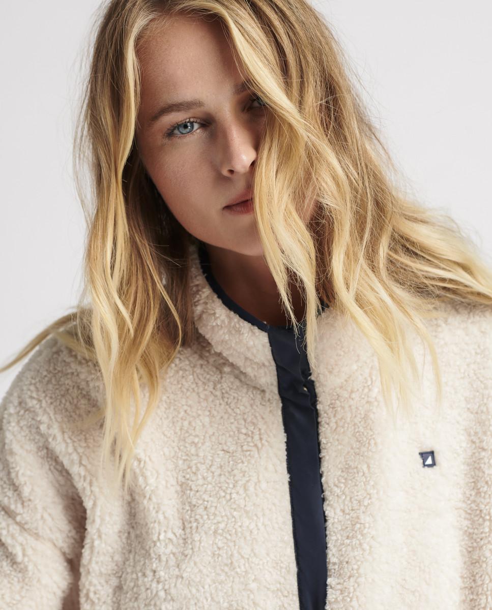 Sweatshirt de Malha Sherpa